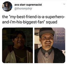 Is it possible for these two to meet or to have at least one interaction togethe. - Is it possible for these two to meet or to have at least one interaction togethe… Is it possibl - Funny Marvel Memes, Dc Memes, Avengers Memes, Marvel Jokes, Loki Funny, Marvel 3, Marvel Universe, Spiderman Marvel, Marvel Heroes
