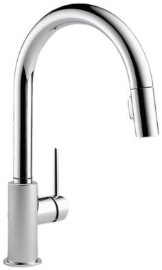 Delta 9159-DST Single Handle Pull-Down Kitchen Faucet, Chrome - Amazon.com
