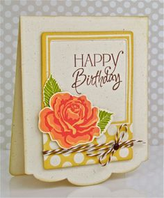 Papertrey Birthday Celebration- Card #3 - Pretty Periwinkles