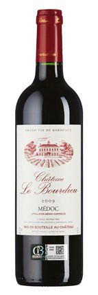 Château de Bourdieu 2009: Duft nach Cassis, Lakritz und Schokolade, Geschmack mit reifer, süßer Frucht, schmeichelnder Fülle und graziler Säure.