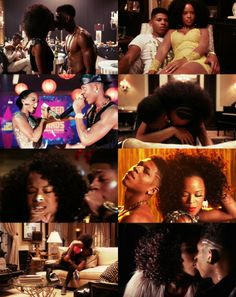 "Tiana Brown and Hakeem Lyon (Empire) ""I want it to be how it was. Flamingo Go Pool, Empire Hakeem, Empire Characters, Empire Cast, Most Popular Tv Shows, Empire Season, Taraji P Henson, Wattpad Stories, Tv Couples"