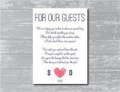 Image result for toiletries basket wedding poem