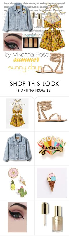 """""""sunny days"""" by ultimatefangirlcat ❤ liked on Polyvore featuring Gap, ban.do, Celebrate Shop, Concrete Minerals, Stila and Bobbi Brown Cosmetics"""