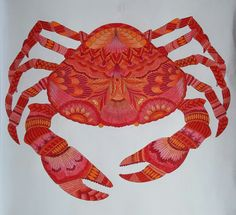 Crab from Millie Marotta's Tropical World
