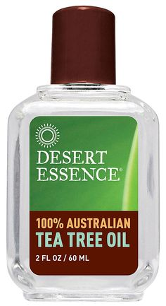 Dip a q-tip in the tea tree oil bottle (don't dilute) and rub on affected nail to get rid of toenail fungus.  Desert Essence Australian Tea Tree Oil -- 2 fl oz - Vitacost