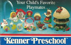 Toy-Addict.com - Kenner Preschool Catalog.  Star Wars and Care Bears too!