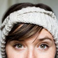 easy headband - i could make this.