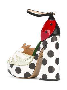 Charlotte Olympia daisy sandals