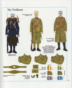 The Tirailleurs, French Army, 1918