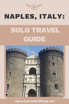 Naples, Italy travel guide with tips on things to do, food, where to stay and more. A solo travel guide! Solo Travel Tips, Italy Travel Tips, Travel Destinations, Budget Travel, Naples Italy, Sardinia Italy, Voyage Europe, Travel Alone, Travel Abroad