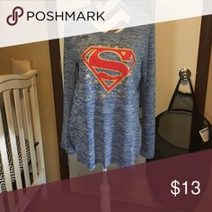 🆕 Superman top NWOT Tops Tunics
