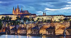 Prague with Kids - best things to see and do with kids in this gorgeous city. King Charles Bridge is a must see. Photographer Portfolio, Travel Photographer, Prague Architecture, F Stop, Charles Bridge, Prague Castle, Photo Report, Cool Landscapes, Shutter Speed
