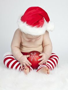 look at his rolls im in love lol so cute for holiday cards