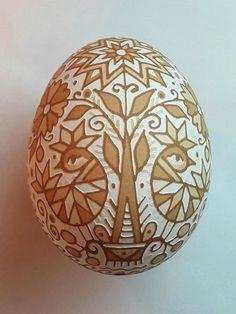 Your place to buy and sell all things handmade Ukrainian Christmas, Ukrainian Easter Eggs, Egg Shell Art, Carved Eggs, Easter Egg Designs, Brown Eggs, Egg Crafts, Egg Art, Egg Decorating