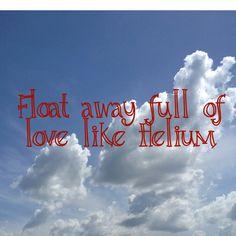 Helium Plain White Ts quote