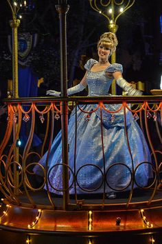 THIS is my favorite example of cinderella's dress by disney --- DSC_0035 | by insidethemagic