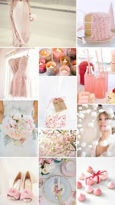 pink theme wedding