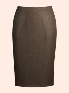 Marron skirt