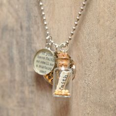 Mustard Seed Faith  Necklace by artisticicing on Etsy, $28.00