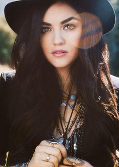 Lucy Hale|Sasha Eisenman Photoshoot 2014 for 'Road Between'