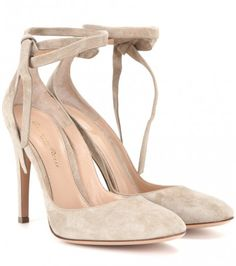 Pumps Carla High Aus Veloursleder