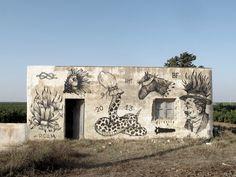 """Formados en el año de 2001 en una pequeña ciudad al norte de Israel, les presento el trabajo deDeso, Kip, Tant y Unga que trabajan como un colectivo llamado """"Broken"""