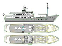 Expedition Yacht Layout