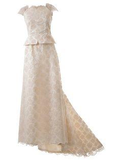 burda style - Schnittmuster - Bodenlanges Brautkleid mit angeschnittener Schleppe. Nr. 110 aus 03-2014