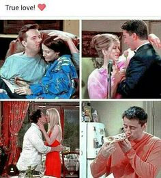 Oh Joey.... He had the best romance out of all of them.