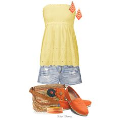 """""""Toms and shorts"""" by madamedeveria on Polyvore"""