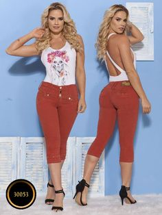 Capri LevantaCola Colombiano Thaxx Essentials - Ref. Janes Mansfield, Nicu, Capri Pants, Woodworking, Booty, Leggings, Shorts, Jeans, Belle