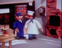 Peter the Postman and Mickey Murphy the Baker