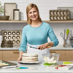 36403de9978 21 Become a better baker with Anna Olson. Shop Anna s line of chef