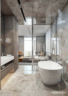 Modern luxury bathroom design ideas for your home Dream Bathrooms, Beautiful Bathrooms, Luxury Bathrooms, Master Bathrooms, Farmhouse Bathrooms, Bathroom Blinds, Bathroom Mirrors, Small Bathrooms, Basement Bathroom