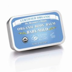 Dr Bronners Organic Body Balm contains organic jojoba, avocado and hemp oils to soothe dry skin anywhere. Excellent for protecting and brightening new and old tattoos. Old Tattoos, Hemp Oil, Organic Baby, Dry Skin, Body Care, Whole Food Recipes, The Balm, Moisturizer, Avocado