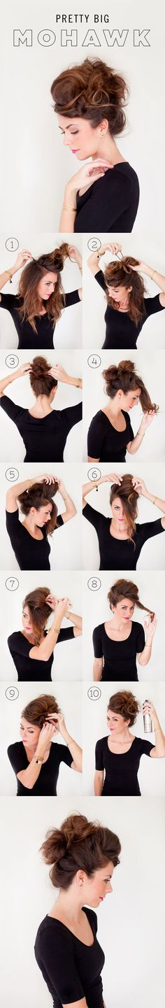 Halloween Hair – 27 DIY hair tutorials