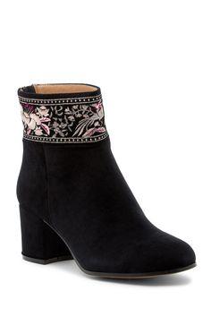 Sibyl Embroidered Velvet Boot by Bettye Muller on @nordstrom_rack