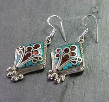 Anuyoga Tibetan Earrings