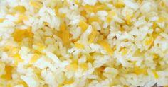 Aqui fica uma receita de Arroz de Cenoura para servir como acompanhamento a muitas outras receitas. Fácil de fazer, faça um arroz diferente