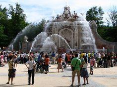 Fotos Fuentes del Palacio de la Granja en Segovia | Viajar a Madrid