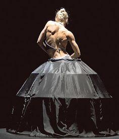 Dancer Minna Tervamäki.