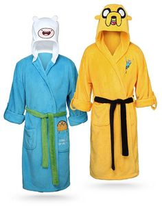 Lounge in the lap of luxury with these Finn and Jake bathrobes ($45 each)…