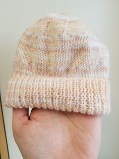 Ravelry: Peachy Keen Baby Hat pattern by Chloe Rip