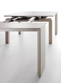 Minuetto Space Saving Table From Milano Smart Living   From Console Table  To Seating 10 Guests