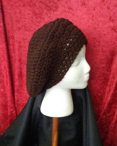 Check out this item in my Etsy shop https://www.etsy.com/listing/494023536/brown-crochet-beret-crochet-beret
