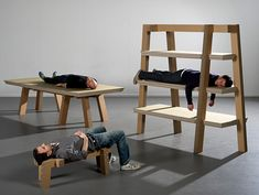 cardboard furniture. love it