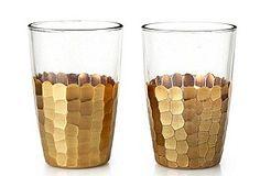 from bklyn contessa :: via black. white. yellow + atsuko :: gorgeous golden glasses