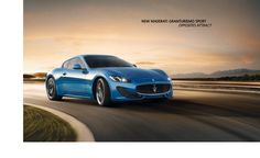 Maserati: luxury, sports and style cast in exclusive cars.  LOVE
