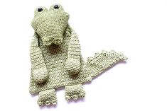 This is the first pattern in the Ragdoll Series. This lovely crocodile won't scare anyone ;) Even though the body is flat like a lovey, this animal will leave much more room for imagination and be a best friend to toddlers and even older children.