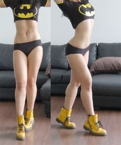 Hot Chicks In Batman Shirts